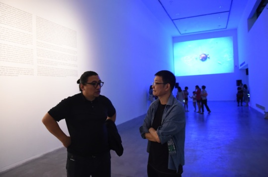 Opening at OCT Art & Design Museum. Image Courtesy Li Zhenhua